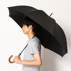 ポロ ラルフローレン(傘)POLO RALPH LAUREN(umbrella)/長傘【手開きタイプ】ツイル先染め朱子ストライプ(メンズ/紳士)