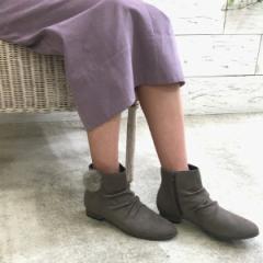 ヴェリココ(velikoko) /[ラクチンきれいブーツ]2wayファー付きブーツ(2.0cmヒール)