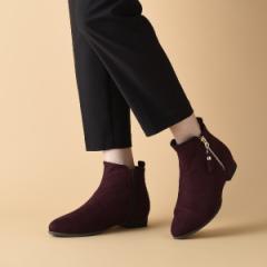 ヴェリココ(velikoko)/[ラクチンきれいブーツ]すっきりタッセルブーツ(2.0cmヒール)