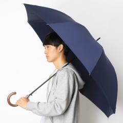 ポロ ラルフローレン(傘)POLO RALPH LAUREN(umbrella)/雨傘【ジャンプタイプ/長傘/ワンタッチ】無地/シンプル(メンズ/紳士)