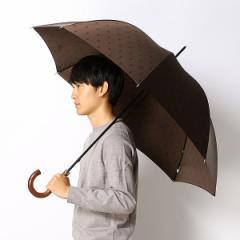 ポロ ラルフローレン(傘)POLO RALPH LAUREN(umbrella)/雨傘【手開きタイプ/長傘】Pツイルプリント(メンズ/紳士)