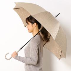 ビバユー(雑貨)(VIVA YOU)/雨傘【ジャンプタイプ/長傘】Pジャガード花柄(レディース/婦人)