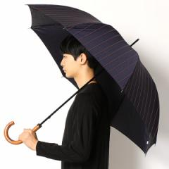ポロ ラルフローレン(傘)POLO RALPH LAUREN(umbrella)/長傘【手開きタイプ】タフタ先染め朱子ストライプ(メンズ/紳士)