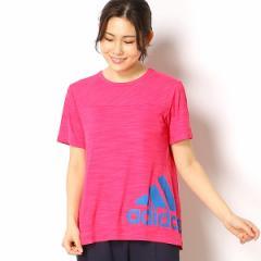 アディダス(adidas)/【アディダス】レディースTシャツ(W TEAM S/S ヘザー Tシャツ)