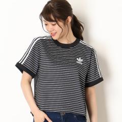 アディダス オリジナルス(adidas originals)/【アディダスオリジナルス】レディースTシャツ(3 STRIPES TEE)