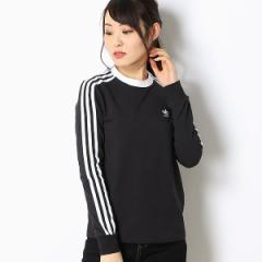 アディダス オリジナルス(adidas originals)/【アディダスオリジナルス】レディースTシャツ(3 STRIPES LS TEE)
