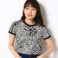 【NEW】アディダス オリジナルス(adidas originals)/【アディダスオリジナルス】レディースTシャツ(3 STRIPES TEE)