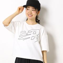 ニューバランス(new balance)/【ニューバランス】レディースTシャツ(NBアスレチッククロップジャージ)