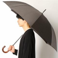 ポロ ラルフローレン(傘)POLO RALPH LAUREN(umbrella)/雨傘【手開きタイプ長傘/格子柄/グラス骨】(メンズ/紳士)