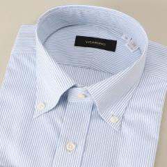 ビサルノ(VISARUNO)/【アウトレット】ラクチンすっきりYシャツ(綿55%ポリエステル45%素材)