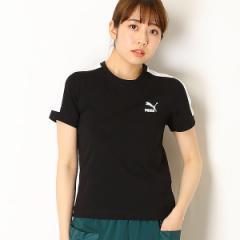 プーマ(PUMA)/【プーマ】レディースカジュアルSSシャツ(CLASSICS タイト SS Tシャツ)