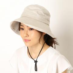 ヤオキチ(YAOKICHI)/【手洗いできる・あごヒモ付き・UVケア】セーラーハット(帽子/レディース)