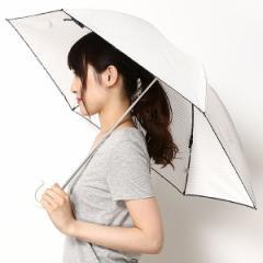 マルイ×ムーンバット(MARUI × MOONBAT)/【折りたたみ日傘 3段折】【UV・遮熱・軽量】くるっと巻くだけ!ラクチン快適 晴雨兼用(…