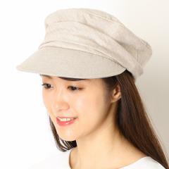 ナミキ(NAMIKI)/ギャザー マリンキャップ【サイズ調節】【レディース/帽子】
