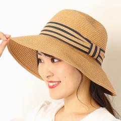 ナミキ(NAMIKI)/ツートンリボンペーパー セーラー【サイズ調節】【たためる】【レディース/帽子】【コンパクト】