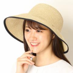 ナミキ(NAMIKI)/ペーパー 後割れクロッシェ【サイズ調節】【たためる】【レディース/帽子】【コンパクト】
