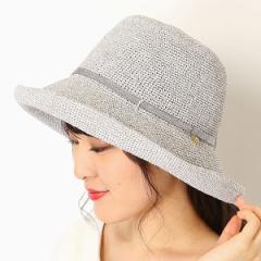 フルラ(ネックウェア・帽子)(FURLA)/【サイズ調整OK】手洗いできるペーパー編み エッジアップセーラーハット
