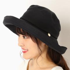フルラ(ネックウェア・帽子)(FURLA)/【UV遮蔽率99%以上・サイズ調整OK・日本製】手洗いできる綿麻ラメステッチセーラーハット