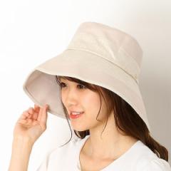 エル(ELLE)/【サイズ調整可・防汚加工・吸水速乾・UV対策】ELLEダウンクロッシェ(レディース/帽子/雑貨)