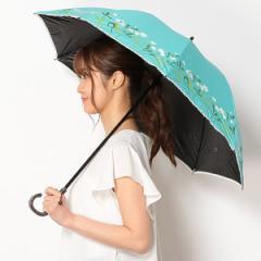 【NEW】シビラ/日傘(ショートスライド式/晴雨兼用)【軽量/遮光&UV遮蔽率99%以上/遮熱】花柄