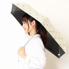 【NEW】ポールアンドジョー(雑貨)(PAUL & JOE)/日傘(2段/折りたたみミニ/晴雨兼用/楽々開閉)【遮光&UV遮蔽率99%以上/遮熱】…