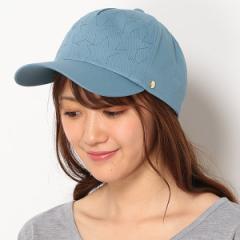 フルラ(ネックウェア・帽子)(FURLA)/【UV対策・手洗いOK・日本製】星刺繍キャップ