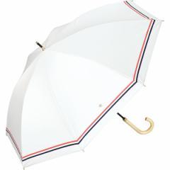 w.p.c(WPC)/日傘 晴雨兼用 長傘 遮光ダブルラインスター(レディース/雨の日も使える)