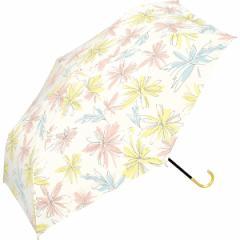 w.p.c(WPC)/日傘 晴雨兼用 折りたたみ フラワースケッチmini(レディース/雨の日も使える)