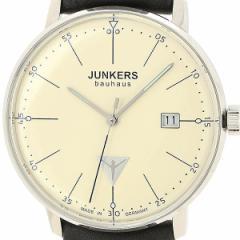 ユンカース(時計)JUNKERS/メンズ時計(バウハウス メンズ(クオーツ【型番:6070−2QZ))