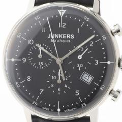ユンカース(時計)JUNKERS/バウハウス メンズ(クオーツ【型番:6086−2QZ)