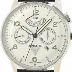 ユンカース(時計)JUNKERS/メンズ時計(G38 トリプルカレンダー パワーリザーヴ メンズ(自動巻き【型番:6960−4AT))