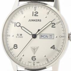 ユンカース(時計)JUNKERS/G38 デイデイト メンズ(クオーツ【型番:6944−1QZ)