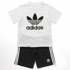 アディダス オリジナルス(adidas originals)/【アディダスオリジナルス】GIFT SET  Tシャツ ハーフパンツ  上下セット (キッ…