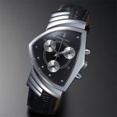 ハミルトン(HAMILTON)/メンズ時計(Ventura Chrono【24412732】アナログ・クロノ・クオーツ・革ベルト)