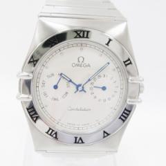 時計 オメガ コンステレーション 1520.30 メンズ クオーツ デイデイト シルバー文字盤【中古】