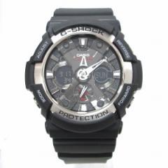 時計 カシオ G-SHOCK GA-200-1ADR メンズ クオーツ 黒文字盤 未使用品【中古】