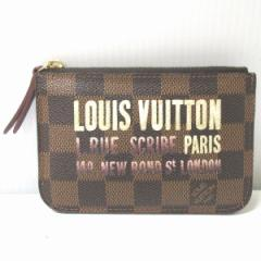 ルイヴィトン Louis Vuitton ダミエ ポシェットクレ N63094 キーリング付き コインケース 財布【中古】
