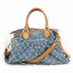 ルイヴィトン Louis Vuitton モノグラムデニム ネオカヴィ M95349 バッグ 2way.3wayバッグ レディース【中古】