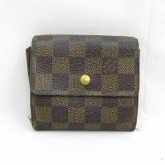 ルイヴィトン Louis Vuitton ダミエ ポルトフォイユエリーズ Wホック財布 N61654【中古】