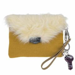 Kipling キプリング FURRY PHAENNA K1430534N MUSTARD YELLOW