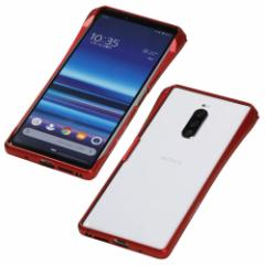 CLEAVE Aluminum Bumper CHRONO for Xperia1 Red
