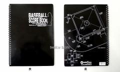 【即日出荷】 マルエスボール 野球スコアブック MR-85874 設備・備品 野球用品 スワロースポーツ ■kyo