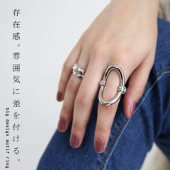 指輪 レディース リング 大ぶり ビッグモチーフ シルバー・9月14日10時〜再再販。(50)メール便可
