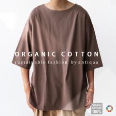 オーガニックコットンT Tシャツ メンズ トップス 半袖 綿。メール便不可