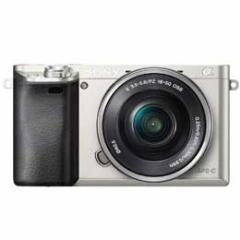 【送料無料】【即納】Sony α6000 ILCE-6000L パワーズームレンズキット [シルバー] デジタル一眼(ミラーレス一眼カメラ)