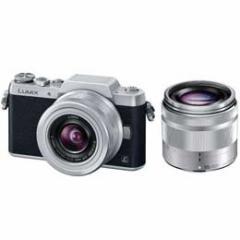 【送料無料】【即納】パナソニック LUMIX DMC-GF7W-S ダブルズームレンズキット [シルバー] デジタル一眼カメラ