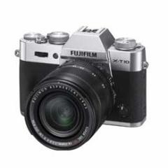 【送料無料】【即納】FUJIFILM X-T10 レンズキット [シルバー] デジタル一眼カメラ