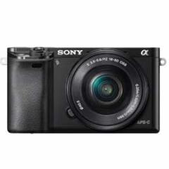 【送料無料】【即納】Sony α6000 ILCE-6000L パワーズームレンズキット [ブラック]