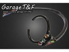ガレージT&F インジケーターランプ(3連)&取り付けステー リングタイプセット カラー:ブラック
