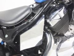 ガレージT&F メッキサイドカバーキット